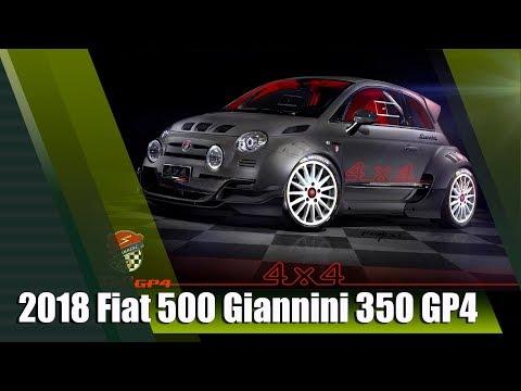 All-New 2018 Fiat 500 Giannini 350 GP4 4x4 350HP