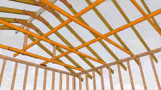 Example Of Two-car Garage Framing – Home-building Design