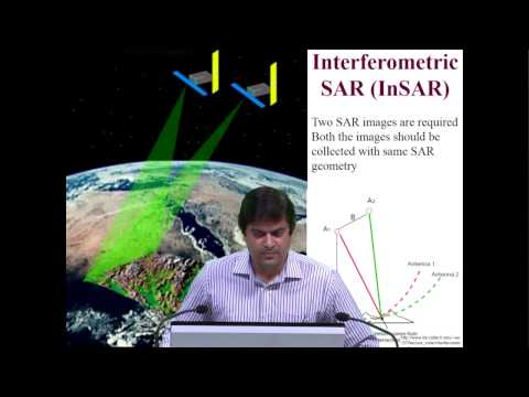 Differential SAR Interferometry Mr  Shashi Kumar