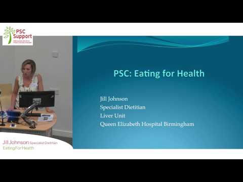 Jill Johnson PSC: Eating for Health - PSC Support Birmingham 2016