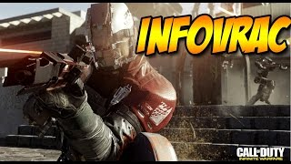 INFOVRAC: Bêta IW XBOX ONE, E-SPORT IW, Cartes Agents IW, Nouvelles Armes BO3, Promos, etc.