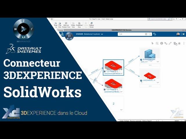 3DEXPERIENCE ® - Connecteur SolidWorks - Mise en plan