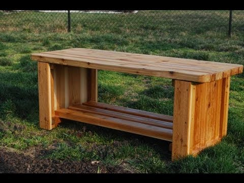 How To Make A Fire Pit Bench Woodlogger