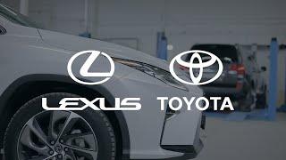 Видеоролик для автосервиса СТО автомобилей Тойота и Лексус в Москве