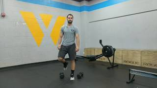 Dumbbell Ground to Overhead