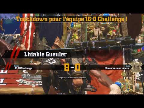 Blood Bowl 2 Legendary Edition - 16-0 Victory against AI (Custom team & RNG) |