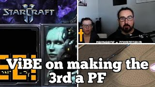 Daily Starcraft Highlights: ViBE on making the 3rd a PF