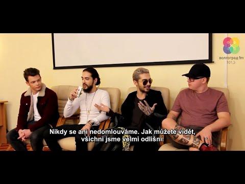 Volgograd fm 101,5: Tokio Hotel Interview - 02.11.2015 #CZ