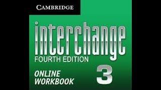 Interchange 3 4th edition Workbook answers units 1-5