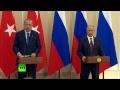 Путин и Эрдоган обсуждают сотрудничество и сирийский вопрос — LIVE