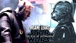 INSANE The Rise Of Skywalker Leaks Revealed! WARNING (Star Wars Episode 9)