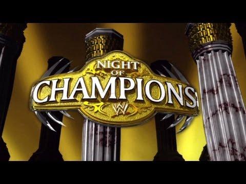 WWE - NIGHT OF CHAMPIONS 2012 FULL PPV LIVE- WWE