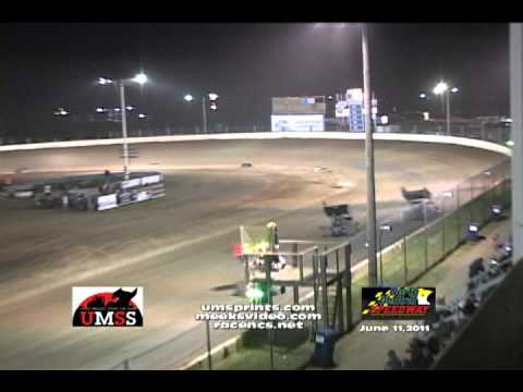 UMSS 6-11-2011 N. Central Speedway Highlights