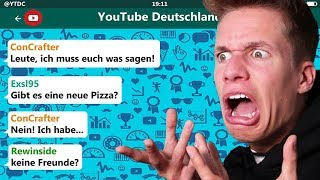 YouTuber reagieren auf ConCrafters Freundin! 😂