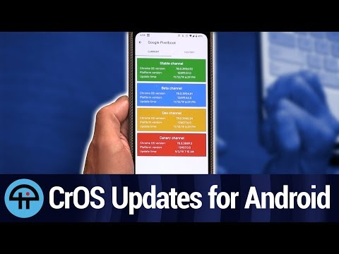 CrOS Updates for Android
