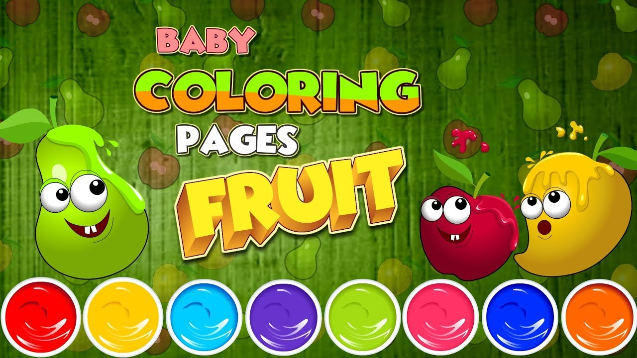 Baby Coloring Fruit Games On Google Play