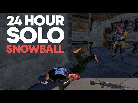 24 Hour SOLO Snowball | Rust Solo thumbnail