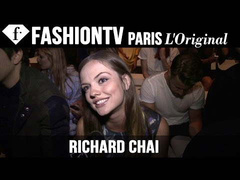 Nat & Alex Wolff, Emily Meade at Richard Chai  New York Fashion Week SpringSummer 2015  FashionTV