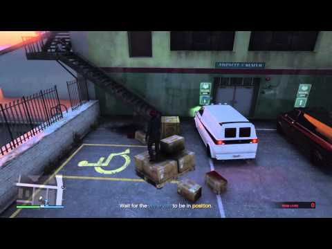GTA 5 - Floating pallet