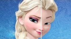 10 Fotos von Disney Prinzessinnen ohne ihr Makeup!