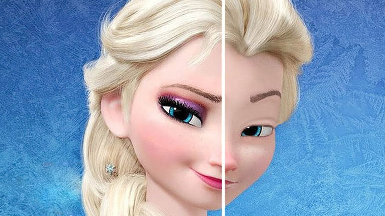 10 Fotos Von Disney Prinzessinnen Ohne Ihr Makeup Youtube