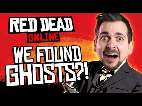 WE FOUND GHOSTS in RED DEAD ONLINE!