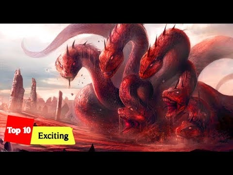 Top 10 Exciting :  Worst And Most Dangerous Monsters In Greek Mythology
