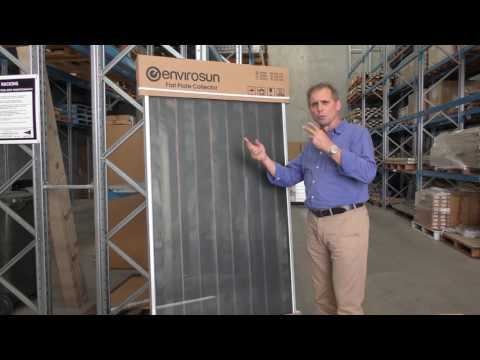 Introduction to the Envirosun Active split solar hot water systems