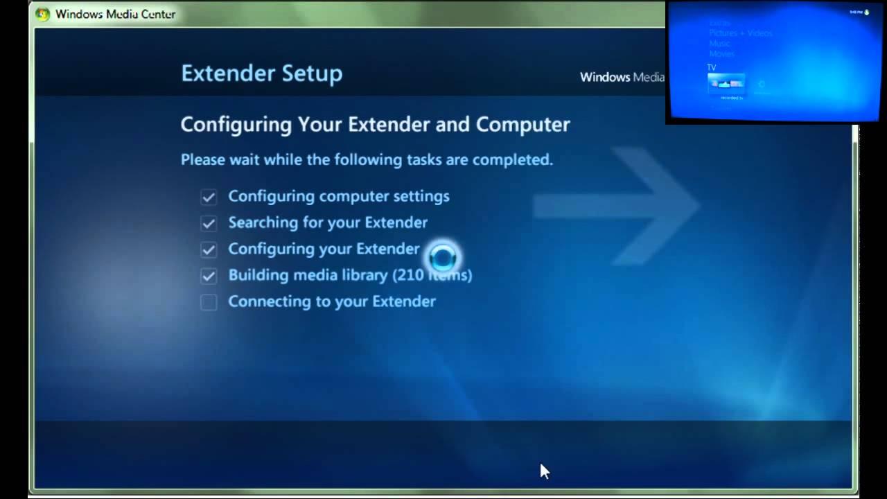Скачать программу windows media center extender