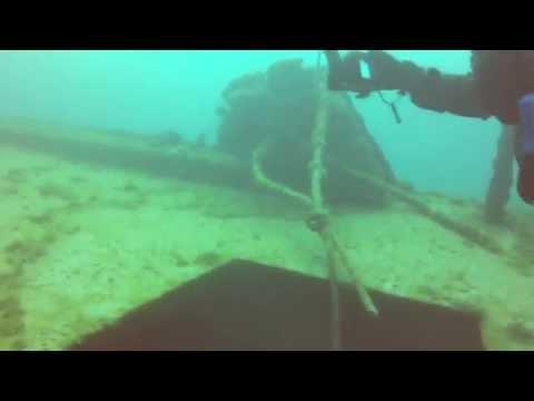 """Wreck Dive """"Straits of Mackinac"""" 6Jul13"""