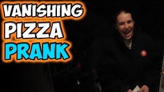 VANISHING PIZZA PRANK!!!