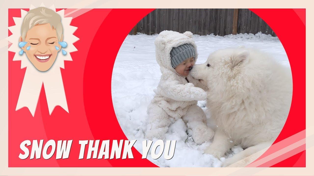 Snow Thank You
