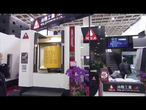 YouJi HMC-500BP Horizontal Machining Center at TIMTOS 2015