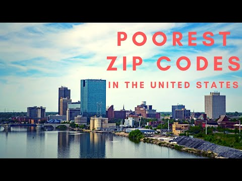 Poorest Zip Codes In The United States