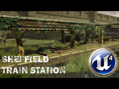 Post-Apocalyptic Sheffield Train Station - Unreal Engine 4