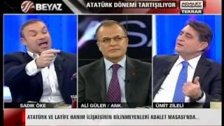 Atatürk Dönemi Tartisiliyor Zübeyde Hanim Annesi Degil Halasidir Yayin Terketti Adalet Masasi-1