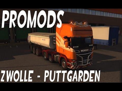 Euro Truck Simulator 2, Amsterdam - Zwolle - Puttgarden (Promods) #1