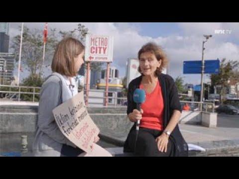 Norveç Devlet Televizyonu NRK, İklim Grevlerimi Haber Yaptı