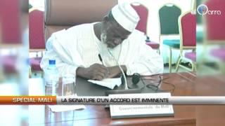 Mali : La signature d'un accord est imminente
