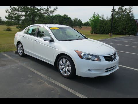 2012 Honda Accord Ex L >> 2010 Honda Accord EX-L V6 Full Tour & Start-up at Massey Toyota - YouTube