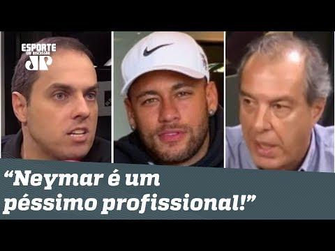 """""""Neymar NÃO É pro Real Madrid! Ele NÃO é profissional!"""" Veja DEBATE!"""