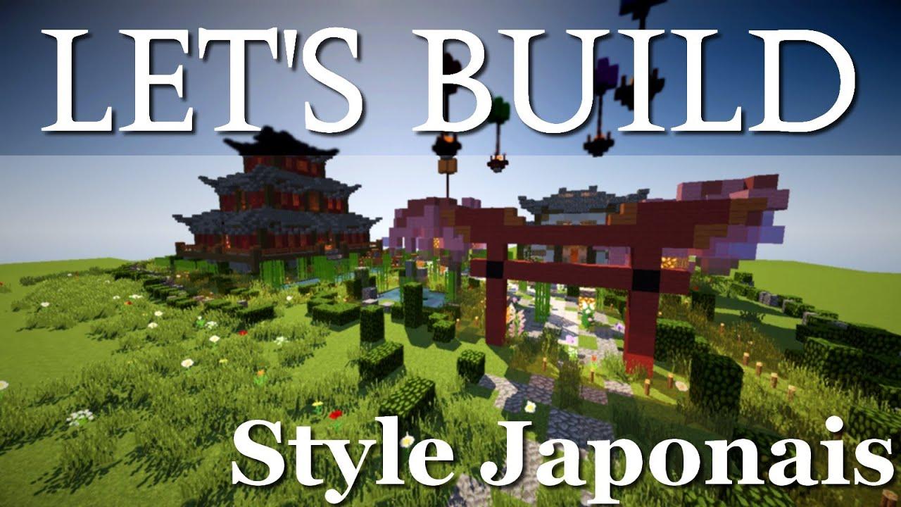 Minecraft Timelapse Asiatique By Monsterluffy