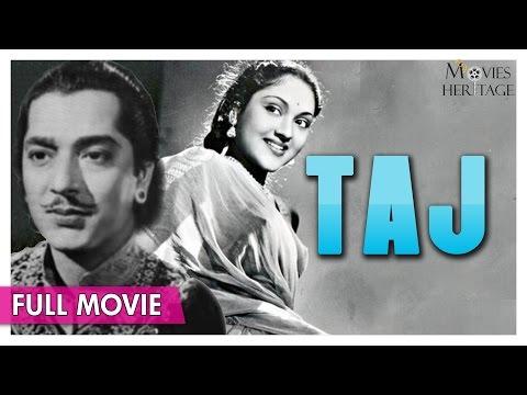 Taj 1956 Full Movie | Vyjayanthimala,Pradeep Kumar | Bollywood Classic Movies | Movies Heritage
