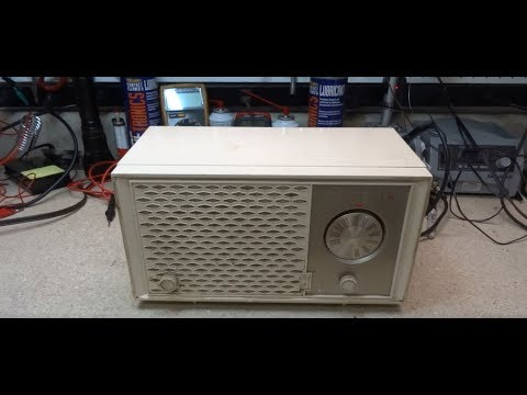 Repair Of A 1962  Zenith H722 FM Only Tube Radio
