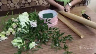 Цветы в шляпных коробках. Как создается такая композиция?(, 2016-05-24T14:55:45.000Z)