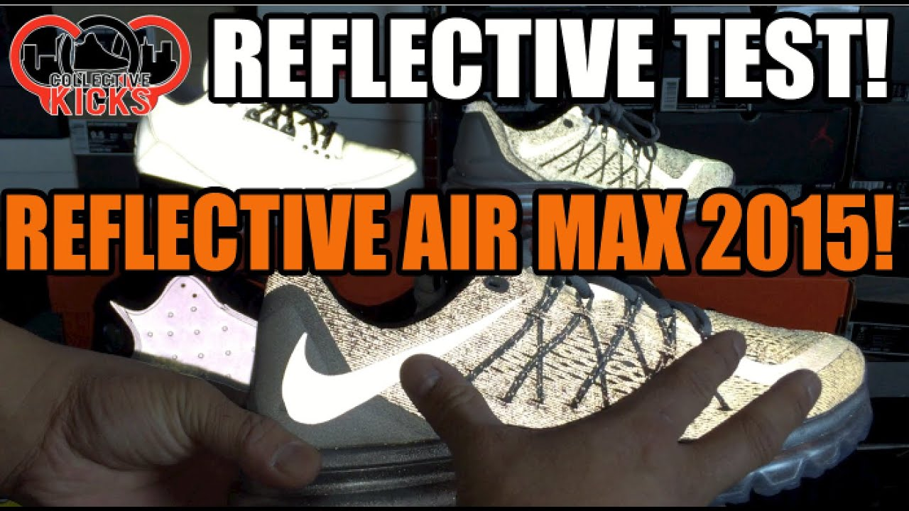 nike air max 2015 reflective review