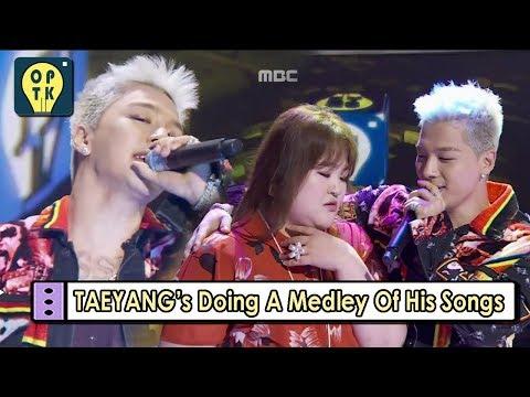 Oppa Thinking  TAEYANG BIGBANG He Does Medley Of His Songs 20170828