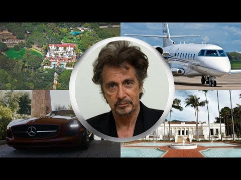 AL PACINO ● LIFESTYLE ● House ● Cars ● Family ●Net worth ● Jet ● 2017