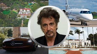 AL PACINO ● LIFESTYLE ● House ● Cars ● Family ●  Net worth ● Jet ● 2017