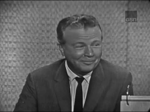 What's My Line? - Dick Powell; Tony Randall [panel] (Sep 9, 1962)